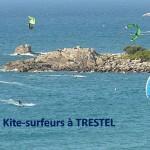 Surfeurs, kite-surfeurs, soyez prudents, respectez les baigneurs encore présents en nombre en cette fin d'été                 Trévou-Tréguignec