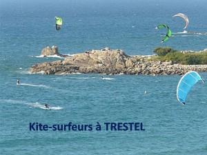 Kite-surf à Trestel