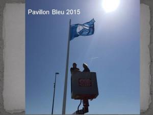 Pavillon bleu 2015