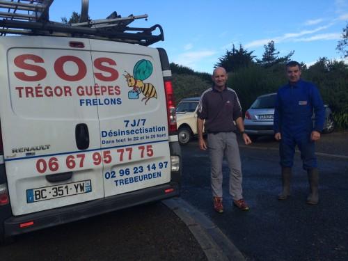 2016-10 le 1- frelons au grand large gilles et sos frelons