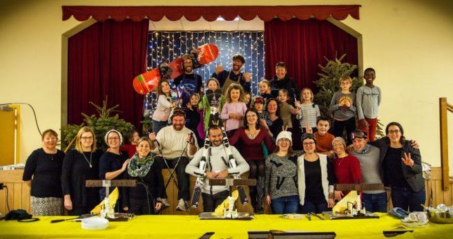 Trévou-Tréguignec, école St Michel, succès du repas raclette, ….. reprise du  BB Broc d'octobre