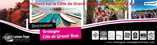 Trévou-Tréguignec  et environs: Animations sur la Côte de Granit Rose pour la semaine à venir