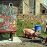 Trévou-Tréguignec Exposition La Fleur dans l'Art et la participation du Jardin d'Eden