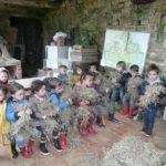 Trévou-Tréguignec École Maternelle publique de Trévou-Trélévern : Sortie à la ferme de Foreschou