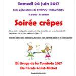 Trévou-Tréguignec : École Saint Michel:  soirée crêpes le samedi 24 juin