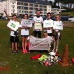 Trévou-Tréguignec  des collégiens de Pommerit «éco runners» ont participé  pour un monde plus propre… entre Port-Blanc et Trestel