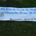 Trévou-Tréguignec : l'école st Michel organisera le BB Broc d'automne le dimanche 22 octobre de 9h à 17h. Réservez vite vos places!