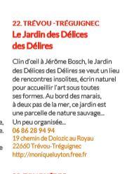 Trévou-Tréguignec Scènes d'automne au jardin: Rendez-vous au «Jardin des délices des délires» au Royau les 27-28-29 octobre, c'est ce prochain week-end…