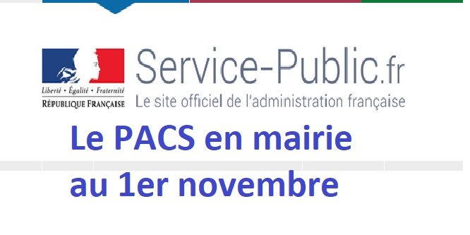 Trévou-Tréguignec  le PACS sera désormais enregistré en mairie (au 1er novembre)