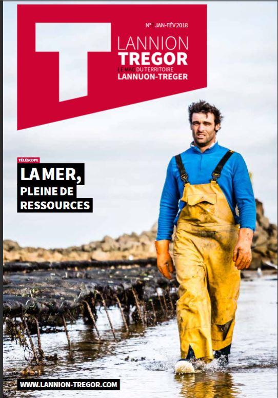 Trévou-Tréguignec T Lannion Trégor, un  magazine d'infos de la Nouvelle Communauté de Communes Lannion-Trégor-Communauté