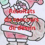 Trévou-Tréguignec Découvrez les résultats du concours de dessins organisé par le Comité des Fêtes sur le sujet: Le Père Noël à la Montagne