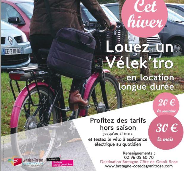 Trévou-Tréguignec     et si vous testiez un vélo à assistance électrique pour 30€ le mois? avec l'Office de Tourisme Communautaire