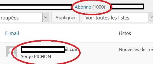 Trévou-Tréguignec  Bienvenue au 1000ème abonné à la Newsletter de Trévou!!