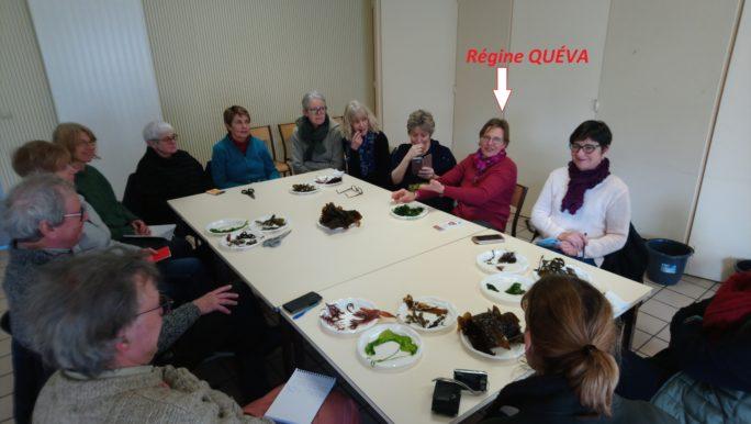 Trévou-Tréguignec TF1 en reportage au Royau  samedi dernier avec Régine QUÉVA