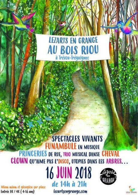 Trévou-Tréguignec LézArts en Grange  vous attendent au BoisRiou le samedi 16 juin: un sacré programme pour tous… Ce n'est pas tout de suite mais c'est à noter dans vos agendas…
