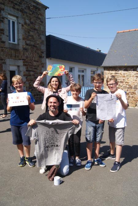 Trévou-Tréguignec Clap de fin pour les CM2 de l'école Saint Michel