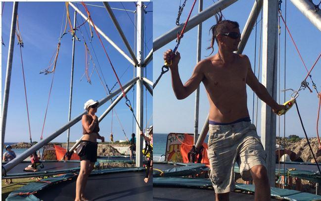 Trévou-Tréguignec le front de mer de Trestel reprend vie: trampodingo; camion de Jean et Véro, manège, animations-Trestel, massages, yoga…