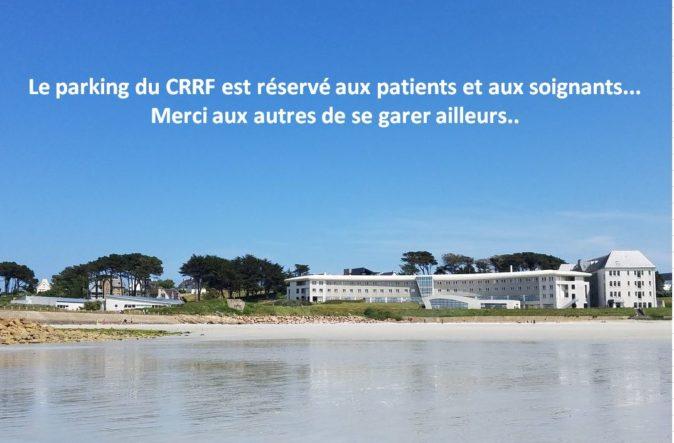 Trévou-Tréguignec  Centre de Rééducation et de Réadaptation Fonctionnelles (CRRF) de Trestel  et si vous laissiez le parking aux patients et soignants!!