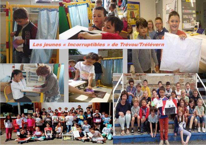 Trévou-Tréguignec  APE  (Association de Parents d'élèves)  du RPI article qui aurait dû paraître dans le bulletin municipal de juillet