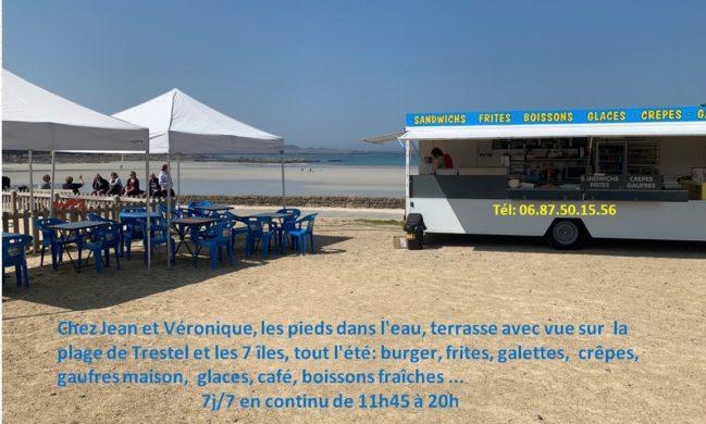 C'est l'été: le front de mer de Trestel revit:  trampodingo; camion de Jean et Véro, manège, animations-Trestel, Trest'ival, Estivales des R', Dimanches de Trestel…