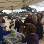 Trévou-Tréguignec  Produit en Bretagne  à Trestel vendredi 10 août  Flux continu sur l'après-midi et des petits sacs cadeaux pour chacun… Quelques photos du jour