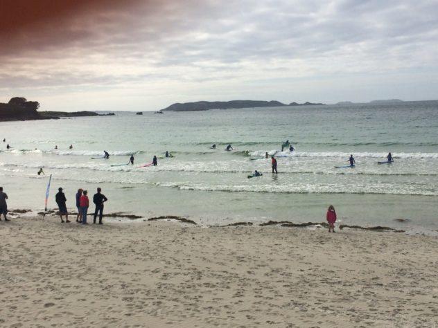 Trestel Surf Club une année très sportive sur l'eau…  un nettoyage de plage le 18 mai               Trévou-Tréguignec