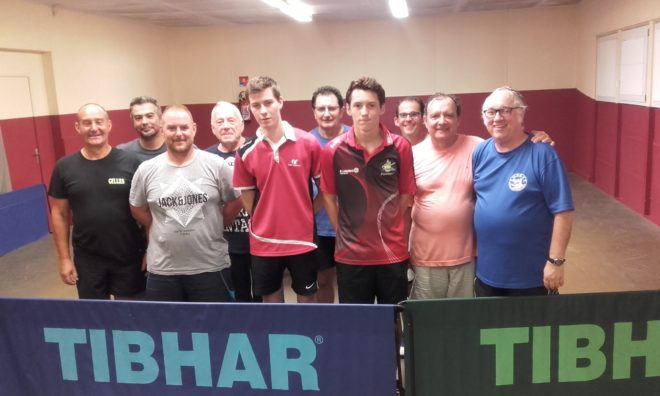 Trévou-Tréguignec/Trélévern  Tennis de Table  résultats des tournois de l'été