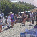 Trévou-Tréguignec     gros succès de la Brocante de Trestel   du comité des Fêtes   dimanche 5 août, plus de 100 exposants