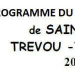 Trévou-Tréguignec Pardon de Saint Guénolé du 31 août au 3 septembre: un programme pour tous