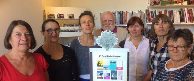 Biblioth'régor a proposé la 2ème édition de son prix des lecteurs du 15 septembre au 15 mars (liste des livres ici) Bulletins de participation à rapporter au plus tard  le 17 mars    Trévou-Tréguignec
