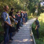 Trévou-Tréguignec Des employés des communes environnantes en formation sur le thème des zones humides, de leur importance et de leur entretien