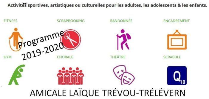 L'Assemblée Générale de l'Amicale Laïque Trévou-Tréguignec Trélévern s'est tenue  le mercredi 2 octobre  à Trévou