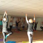 Trévou-Tréguignec Le Yoga dans la nouvelle salle annexe de la salle de sports ; c'est tout comme il faut!!