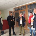 Trévou-Tréguignec  La ville de Perros en visite à la salle des sports