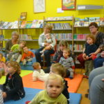 Trévou-T Atelier lecture des tout-petits à la Bibliothèque:  Prochaine séance le jeudi 24 janvier.   (photos des derniers ateliers)