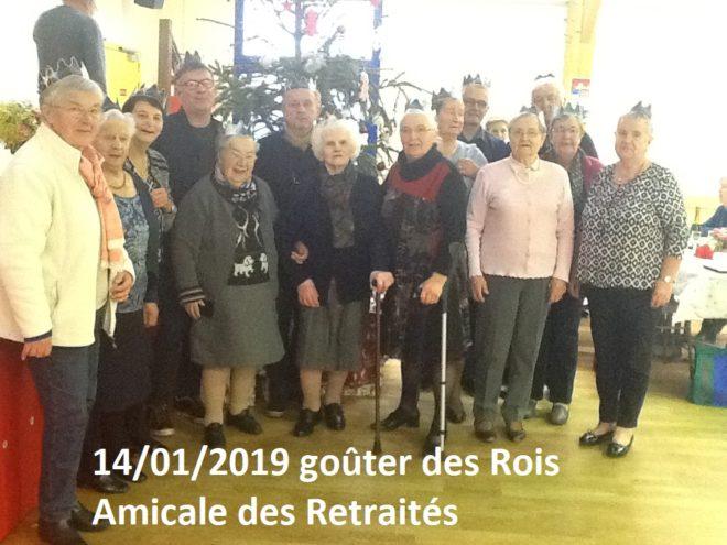 Trévou-Tréguignec   105 adhérents de l'amicale des retraités ont apprécié la galette des Rois de ce  lundi 14 janvier