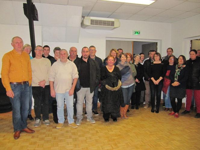 Trévou-Tr La Municipalité a présenté ses voeux au personnel communal