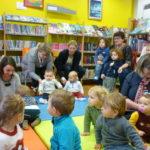 atelier lecture pour les tout-petits  jeudi  21 mars à la bibliothèque (ici, photos des précédents ateliers)