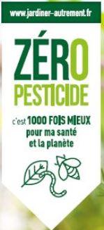Trévou-T  «Zéro Pesticide c'est 1000 fois mieux pour ma santé et la planète» une nouvelle réglementation depuis le 1er janvier 2019