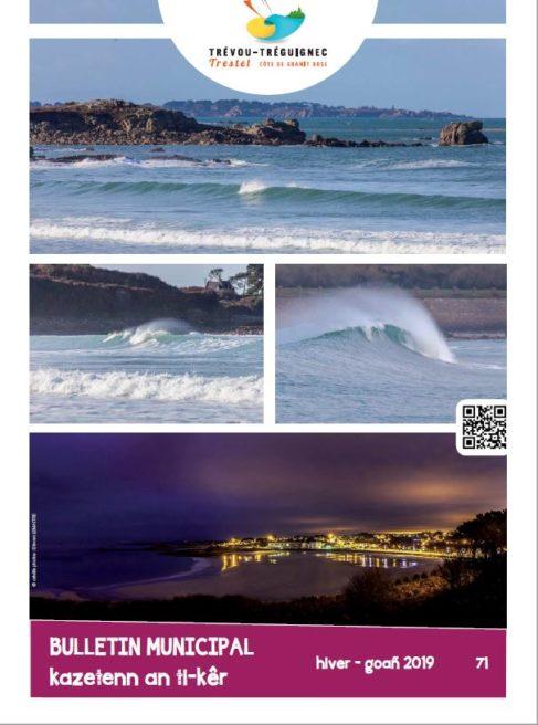 le bulletin municipal N°71 a été distribué; il est aussi consultable en ligne             Trévou-Tréguignec