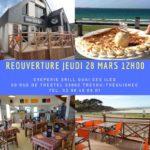 Le Quai des îles : crêperie Grill de Trestel repris par Yolène et Sylvain Cosset ouvrira jeudi 28 mars à midi                         Trévou-Tréguignec