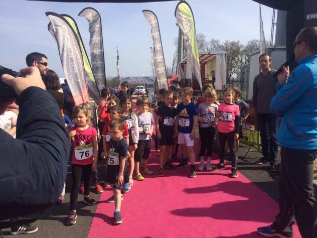 Gros succès de la Trévousienne  ambiance-organisation super près de 350 coureurs            Trévou-Tréguignec