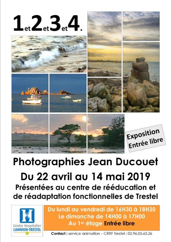 CRRF Trestel nouvelle expo sur le nombre intitulée 1et2et3et4 de Jean Ducouet du  23 avril   au 14 mai                         Trévou-Tréguignec
