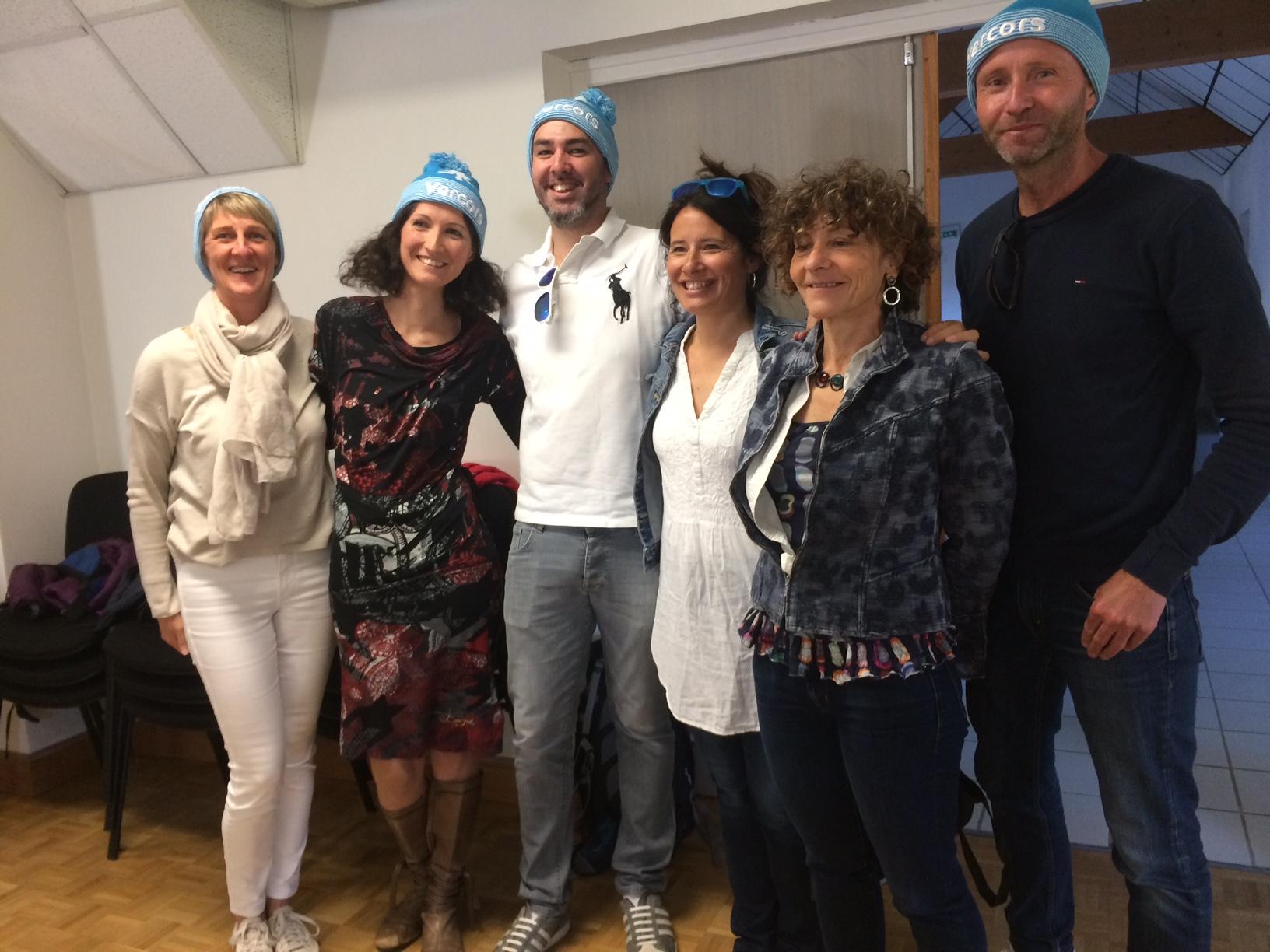 Les enfants de Lans en Vercors ont été  accueillis pour une soirée chez leurs correspondants des 2 écoles .. pendant ce temps les 7 accompagnateurs étaient reçus en mairie par les élus, les enseignants  et le comité de jumelage                          Trévou-Tréguignec