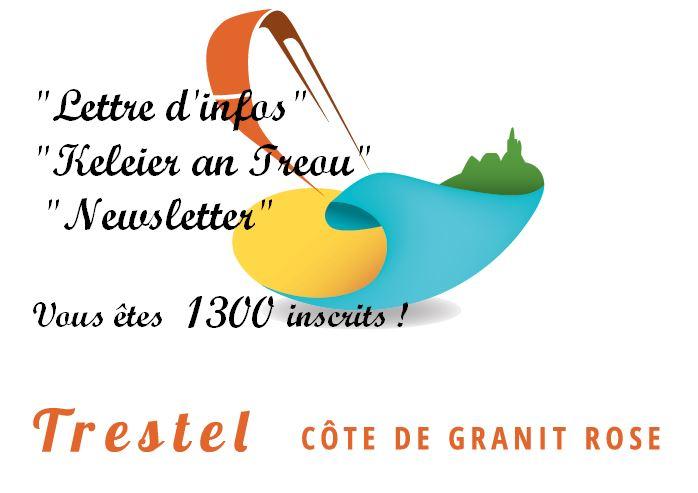 25 juin 2019: Cette Lettre d'informations trévousiennes est désormais envoyée à 1300 abonnés      Trévou-Tréguignec