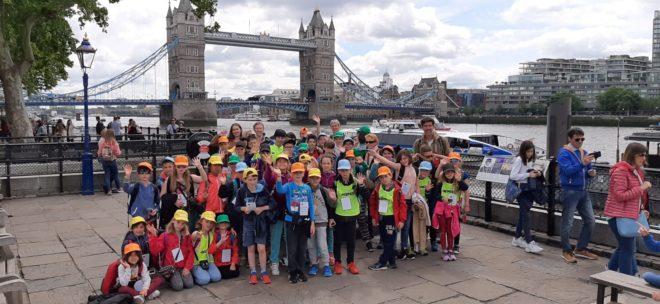 RPI  école publique les enfants ont passé quelques jours à Londres   (photos)                  Trévou