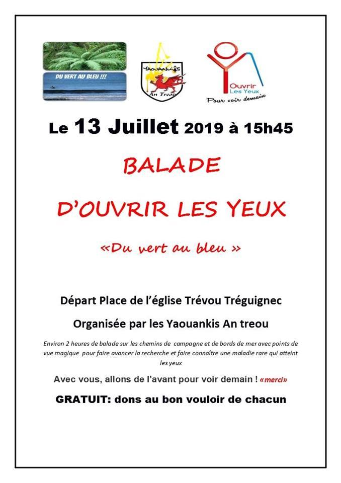 Le Pardon du bourg de Trévou c'est dans un mois…    et, une rando «entre vert et bleu» le samedi 13 juillet  à 15h45