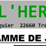 Nolwenn de l'Hermine-St Guénolé vous présente le programme de juillet