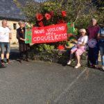 Le Mouvement: «Nous voulons des Coquelicots» s'est rassemblé pour le 3ème rendez-vous  vendredi 2 août.  Prochain RV le vendredi 4 octobre                 Trévou