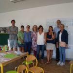élus Trévou-Trélévern: Visite de rentrée des écoles du RPI avec Sandrine Guillot nouvelle directrice du RPI / pôle de Trélévern